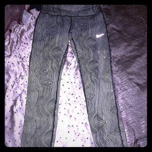 Nike Pants - Nike Dri Fit striped leggings XS