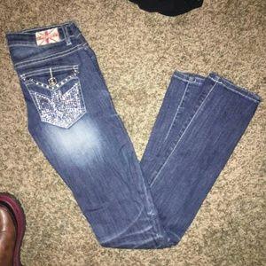 SOLD* NWOT Machine LONDON Skinny jeans
