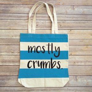 Handbags - Mostly Crumbs canvas tote