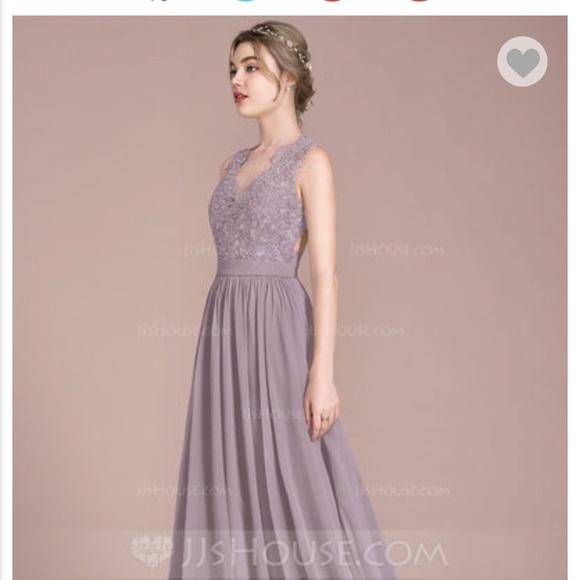e6d49a7653e3d JJ's House Dresses | Dusk Purple Bridesmaid Dress Or Prom Dress ...