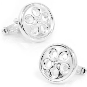 Other - Sterling Silver Spinner Wheel Cuff Links