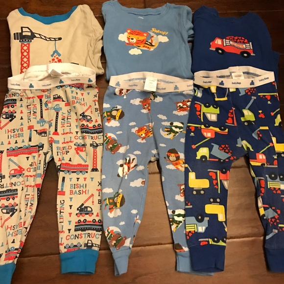 Girls' Clothing (newborn-5t) Clothing, Shoes & Accessories Alert Baby Gap Under The Sea Pj Set 12-18m Moderate Price