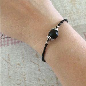 Jewelry - Black and silver bracelet