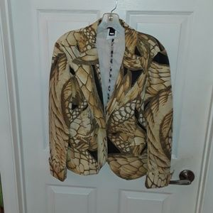 Just Cavalli women's jacket size XL