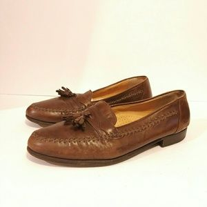 Bally Men's Brown Loafer Size 10.5 EEE Wide
