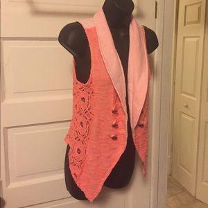 Size L orange vest vanity
