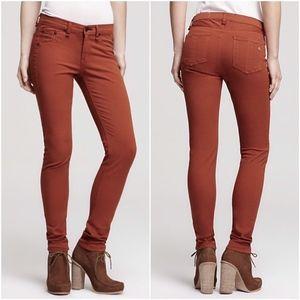 Rag & Bone Burnt Orange Rust Skinny Jean Legging