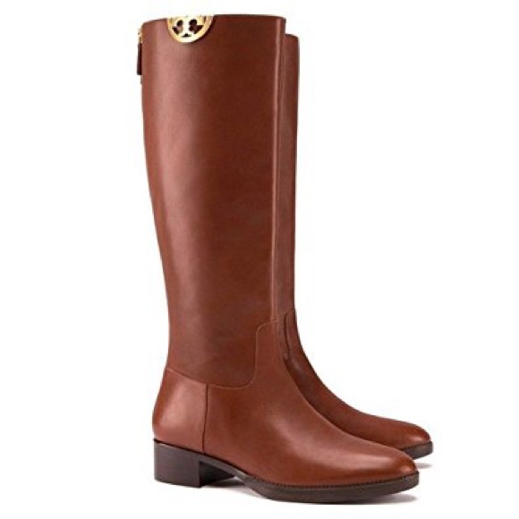 a43ef5f343c Tory Burch Sidney penny brown tall boots 8. M 59eff51b4e8d17a61203134c