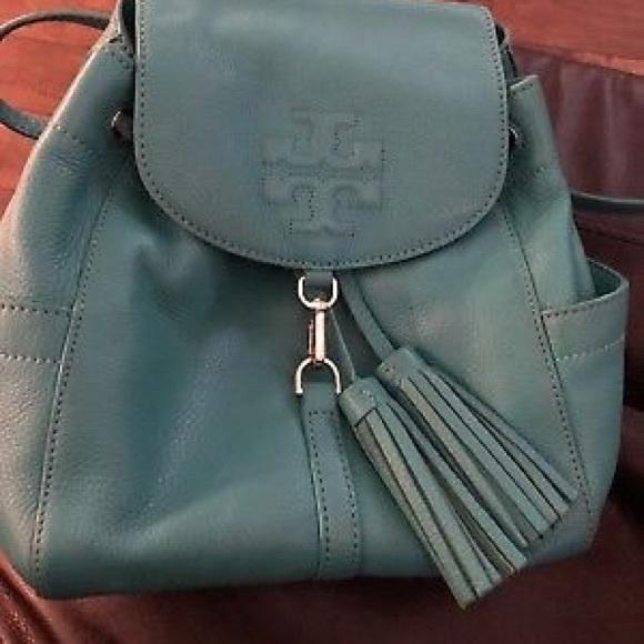 e3079f2438a0 ... Tory burch Thea mini backpack   purse. M 59eff83d620ff73d53032de2