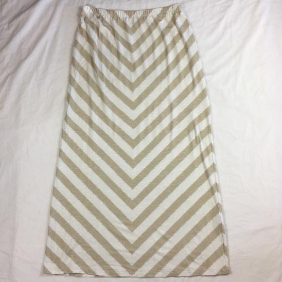 7682940daa32b2 Chico's skirt maxi Colby Chevron jersey knit. Chico's.  M_59eff6c4ea3f36e54e03261d. M_59eff6c5c6c79562490318fb.  M_59eff6c68f0fc4f11d03135f