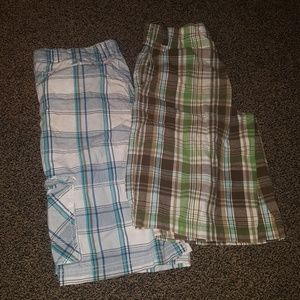 Other - Plaid shorts bundle