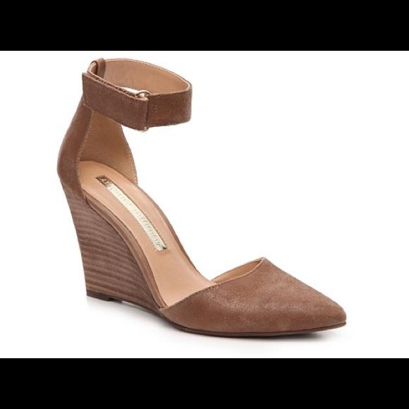 42aabd64560 Audrey Brooke Shoes - Audrey Brooke Esther Ankle Strap Wedge