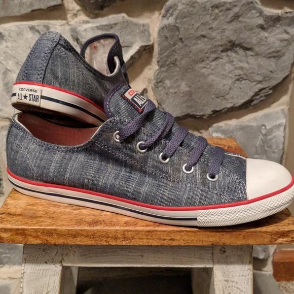 e47b7553025 Converse Shoes - Converse Dainty Women s Size 9 Blue Denim