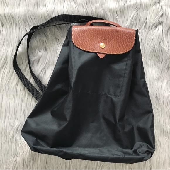 Longchamp Bags   Pm Editor Pick Lepilage Nylon Backpack   Poshmark 6cfa325f52