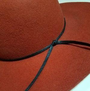 Rustic Orange Round Hat