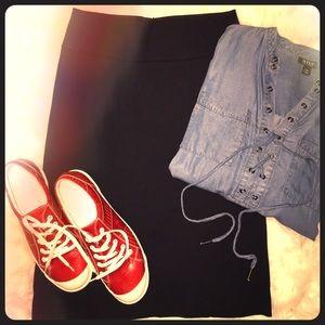 CAbi. Knit Skirt