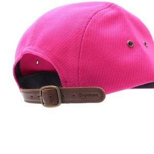 1a043a7be1b Supreme Accessories - SUPREME Magenta Cavalry Twill Camp Hat NWT