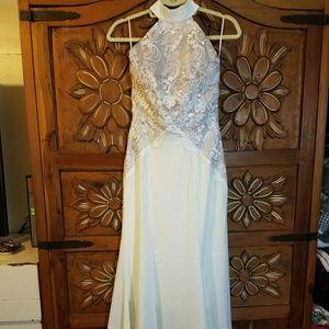 BRAND NEW Missguided Bridal Halter dress