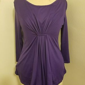 Tops - Purple XL stretchy top