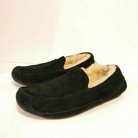 6275217f90f Ugg Mens Ascot Slipper Shoes Size 10