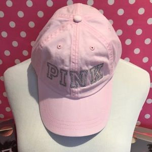 NWT VS PINK pink hat