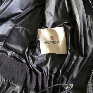 MONCLER performance shell rain jacket coat s2