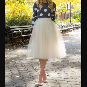 Alice + Olivia Celyn Wool Polka Dot sweater.