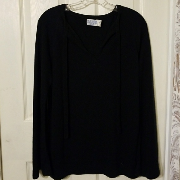 52% off sears Sweaters - Ladies comfy black sweater from Jenn ...
