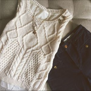 Anthropologie MOTH Neve Sweater Tank.