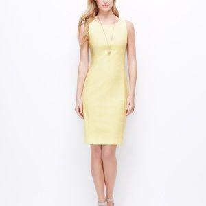 Ann Taylor textured sheath dress