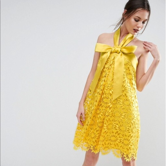 ASOS Dresses & Skirts - Asos tall bow lace dress