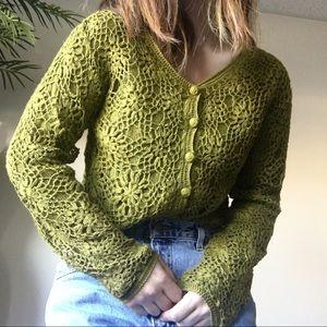 Vintage Moda Cardigan Crop