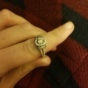 Levian chocolate diamond wedding engagement ring