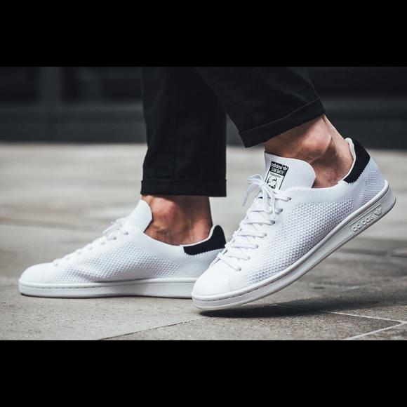 check out 92621 3282e Adidas Stan Smith primeknit sneakers men 9 NWT