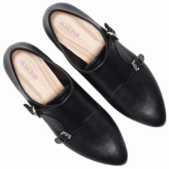 23ffefdaf9aa Monk Strap Pointed Loafers NIB