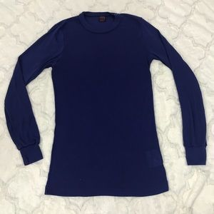 Patagonia capilene blue XS mall long johns