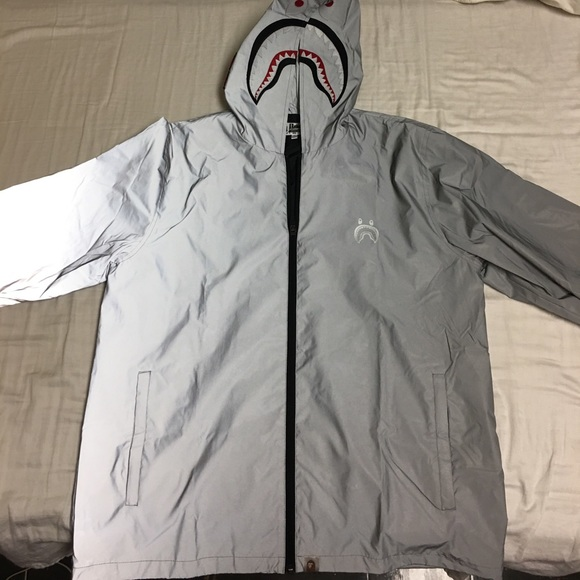 fa24e8a3591e Bape Other - BAPE 3M Reflective Zip-up Hoodie