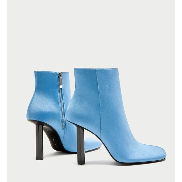 c5c299c5112 Zara Shoes   Light Blue Boots Brand New Never Worn   Poshmark