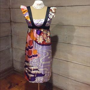 100% silk Voom dress