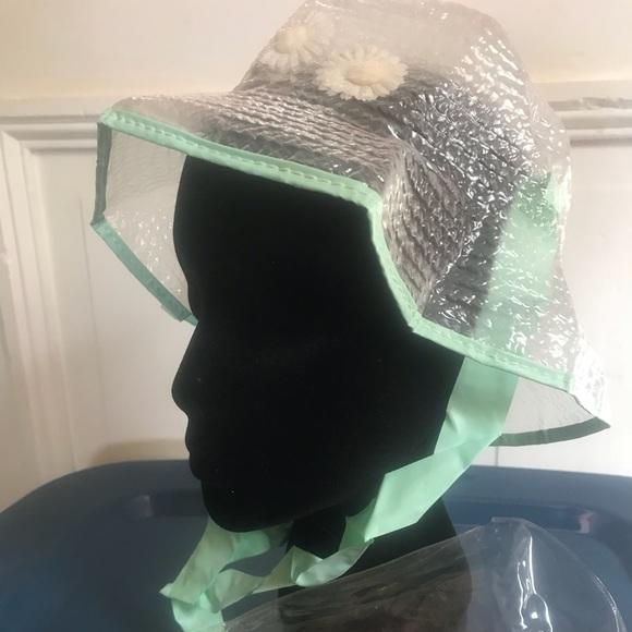 Vintage Rain Hat Rainbeau Chapeau NIP. M 59f086d756b2d6eceb007ebc 32a52c02df3