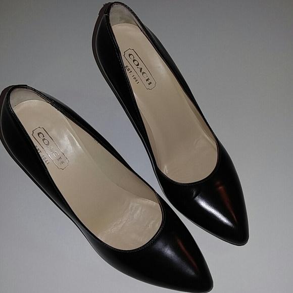 991fe7b486e Coach Shoes - Coach GENNIE Brown Pumps Heels 8.5B SALE!