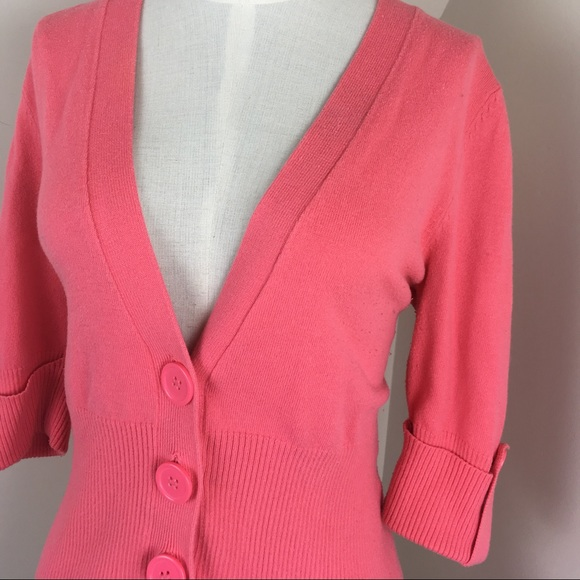 69% off Sweaters - ⭐️Elegant Light Pink Button up Sweater ...