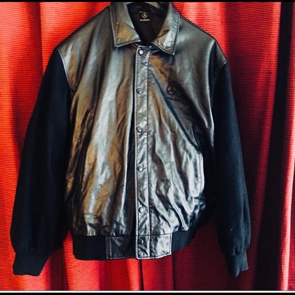 80 off mercedes benz other mercedes benz soft leather for Mercedes benz leather jacket