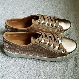 Bebe Womens Dane-l Fashion Sneaker