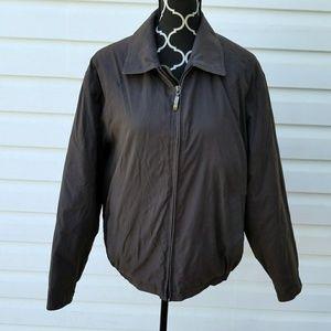 Claiborne Outerwear Mens Jacket Microlight