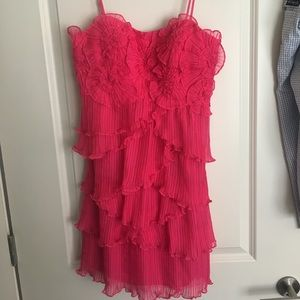 Sue Wong Pink Party Dress Women's Size 8