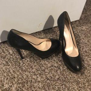 Black tall heels