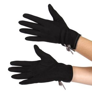 Accessories - 🎁FAUX SUEDE BOW TOUCH SCREEN GLOVES🎁