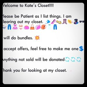 Other - 🌠🌠Willing to sell whole closet🌠🌠