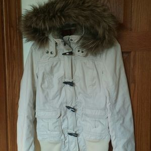 Abercrombie &Fitch Twill Bomber Jacket